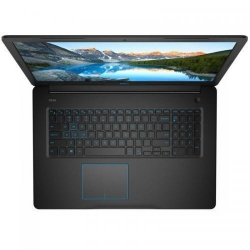 Laptop DELL G3 3779, Intel Core i7-8750H, 17.3inch, RAM 16GB, HDD 1TB + SSD 128GB, nVidia GeForce GTX 1050 Ti 4GB, Linux, Black