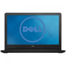 Laptop Dell Inspiron 3552, Intel Celeron Dual Core N3060, 15.6inch, RAM 4GB, HDD 500GB, Intel HD Graphics 400, Linux, Black