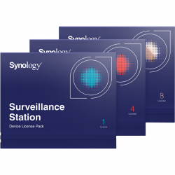 Licenta supraveghere IP camera NAS Synology, pack 4 buc