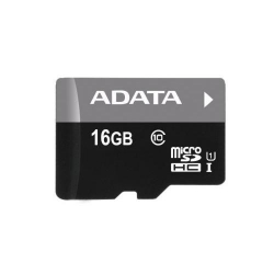 Memory Card A-Data Premier MicroSDHC 16GB, class 10 + SD adapter