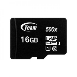 Memory card TeamGroup Micro SDHC 16GB UHS-I + Adapter