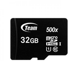 Memory card TeamGroup Micro SDHC 32GB UHS-I + Adapter