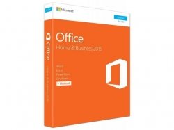 Microsoft Office Home and Business 2016 Windows English EuroZone Medialess