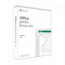 Microsoft Office Home and Business 2019 Engleza, Medialess Retail, 1User