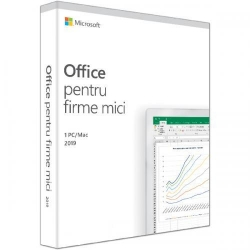 Microsoft Office Home and Business 2019 Romanian EuroZone Medialess, 1User