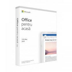 Microsoft Office Home and Student 2019, Engleza, Medialess Retail, 1User