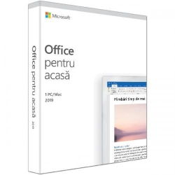 Microsoft Office Home and Student 2019 Romanian EuroZone Medialess, 1User