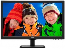 Monitor LED Philips 223V5LHSB, 21.5inch, 1920x1080, 5ms, Black