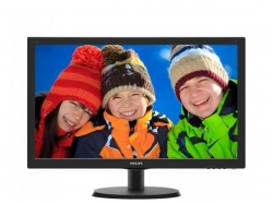 Monitor LED Philips 223V5LHSB2, 21.5inch, 1920x1080, 5 ms, Black