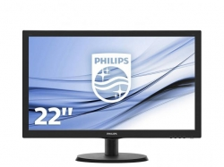 Monitor LED Philips 223V5LSB, 21.5inch, 1920x1080, 5ms, Black