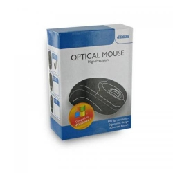 Mouse Optic 4World 06712, PS/2,  Black