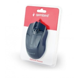 Mouse Optic Gembird MUS-3B-01, USB, Black