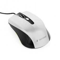 Mouse Optic Gembird MUS-4B-01-BS, USB, Black-White