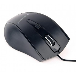 Mouse Optic Gembird MUS-4B-02, USB, Black