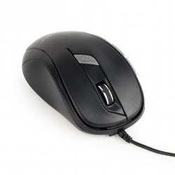 Mouse Optic Gembird MUS-6B-01, USB, Black