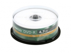DVD-R Omega 16x, 4.7GB, 25buc, Spindle
