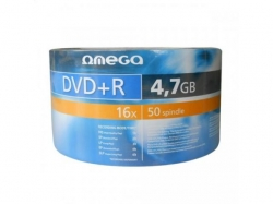 DVD+R Omega 16x, 4.7GB, 50buc, Shrink