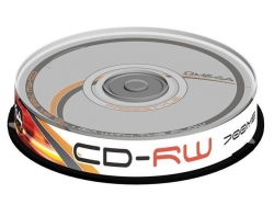 CD-RW Omega 12x, 700MB, 10buc, Spindle