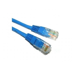 Patch Cord Spacer SP-PT-CAT5-0.5M-BL, UTP, Cat5e, 0.5m, Blue