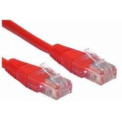 Patch Cord Spacer SP-PT-CAT5-0.5M-R, UTP, Cat5e, 0.5m, Red