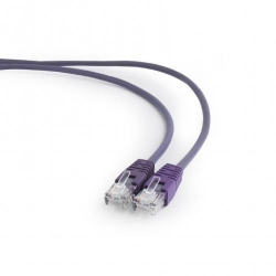 Patchcord Gembird, UTP, Cat.5e, 0.25m, Purple