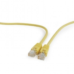Patchcord Gembird, UTP, Cat.5e, 0.25m, Yellow