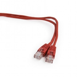 Patchcord Gembird, UTP, CAT5e, 0.25 m, Red