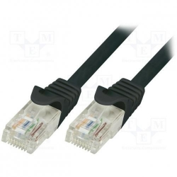 Patchcord Logilink CAT5e, UTP, 0.25m, Black