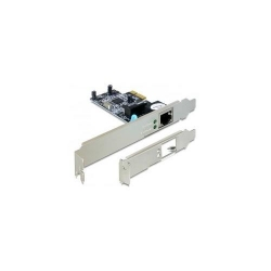 Placa de retea Delock PCI Express Card - 1x Gigabit LAN + low profile