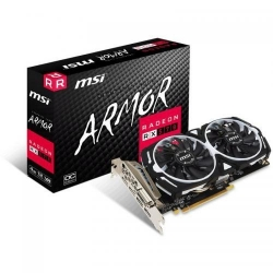 Placa video MSI AMD Radeon RX 570 Armor OC 4GB, DDR5, 256bit