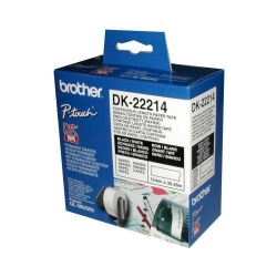 Rola hartie continua P-touch Brother DK22214