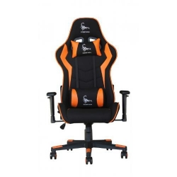 Scaun gaming Gembird Scorpion, Black-Orange