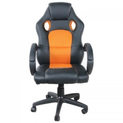 Scaun gaming Spacer RNG43, Black-Orange