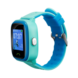 SmartWatch Canyon Kids CNE-KW51BL, 1.22inch, Curea Silicon, Blue/Black