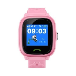 SmartWatch Canyon Kids CNE-KW51RR, 1.22inch, Curea Silicon, Pink