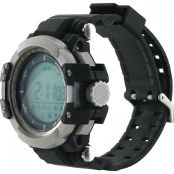 SmartWatch Canyon Military Style, Black-Silver