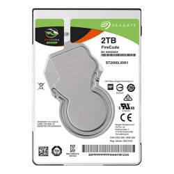 Solid State Hibrid Drive Seagate FireCuda 2TB, SATA3, 128MB, 2.5inch