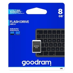 Stick memorie Goodram UPI2, 8GB, USB 2.0, Black