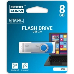 Stick memorie Goodram UTS2, 8GB, USB 2.0, Blue