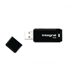 Stick Memorie Integral 16GB, USB 2.0, Black
