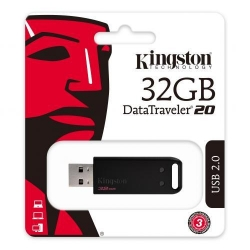 Stick Memorie Kingston DataTraveler 20, 32GB, USB 2.0, Black