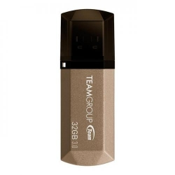 Stick memorie TeamGroup C155 32GB, USB 3.0, Gold