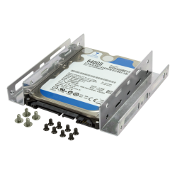 Suport montare HDD LogiLink AD0009, 2.5inch in bay de 3.5inch, 2xHDD