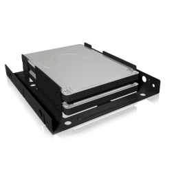Suport montare HDD/SSD Raidsonic IcyBox, 2x 2.5inch in 3.5inch, Black
