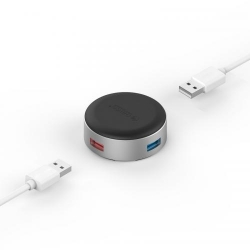 Suport Orico ANS1 Aluminum, 3x USB 3.0, Silver
