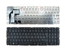 TASTATURA NOTEBOOK US BLACK WITHOUT FRAME HP 15-B1420X