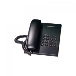 Telefon Fix Panasonic KX-TS500RMB, black