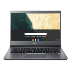 Ultrabook Acer Chromebook 714 CB714-1WT, Intel Core i3-8130U, 14inch Touch, RAM 8GB, eMMC 128GB, Intel UHD Graphics 620, Chrome OS, Grey