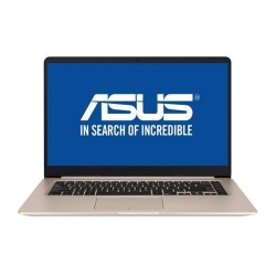Ultrabook Asus S510UF-BQ118, Intel Core i5-8250U, 15.6inch, RAM 8GB, HDD 1TB, nVidia GeForce MX130 2GB, Endless OS, Gold