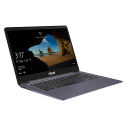 Ultrabook Asus VivoBook S14 S406UA-BM013, Intel Core I5-8250U, 14inch, RAM 8GB, SSD 256GB, Intel UHD Graphics 620, Endless OS, Starry Grey Metal